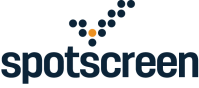 Spotscreen Logo (2017) - Stacked Dark
