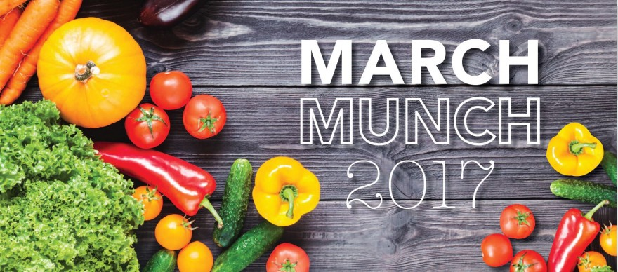 March Munch home page slider